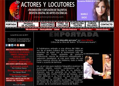 Actores y Locutores