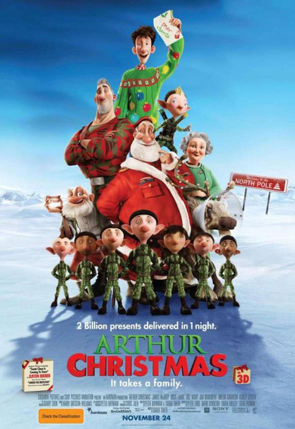 Arthur Christmas : Operación Regalo