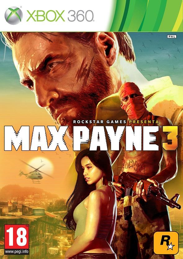 Carátula Max Payne 3 interior