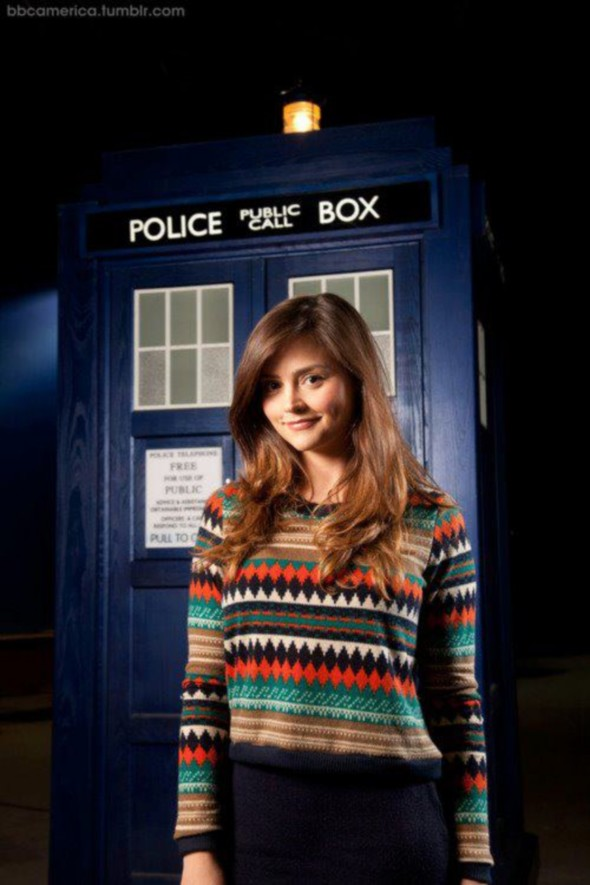 Jenna-Louise Coleman Doctor Who