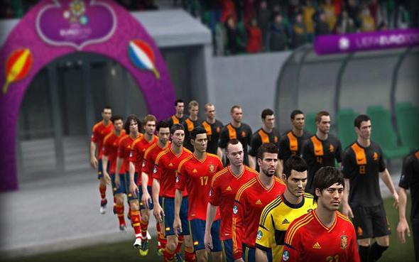 Video uefa 2012