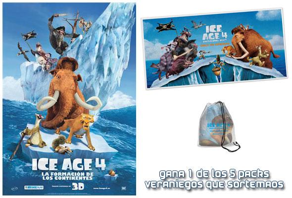Ice Age 4: La Formación de los Continentes 3D