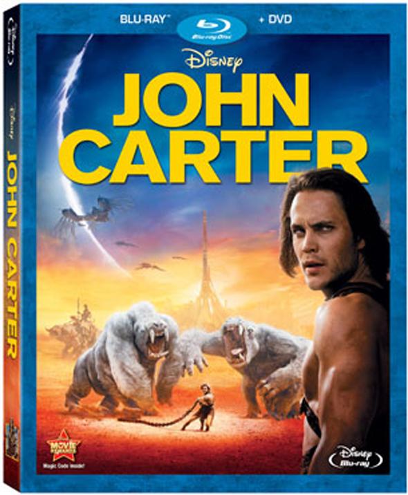 John Carter, en Blu Ray el 29 de Junio
