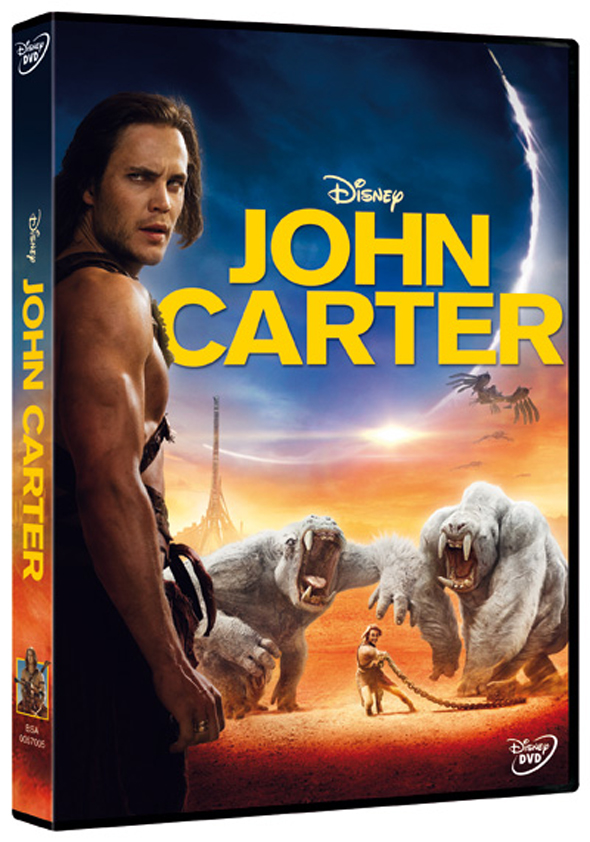John Carter, en DVD el 29 de Junio