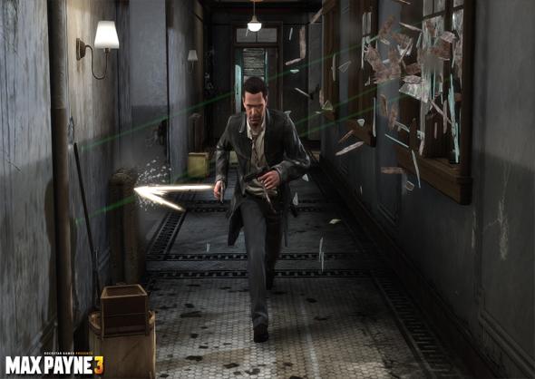 Comic Max Payne 3 Interior