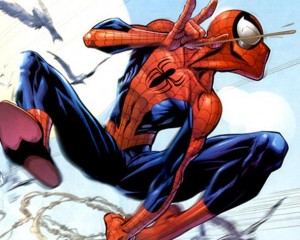 Ultimate Spider-man interior