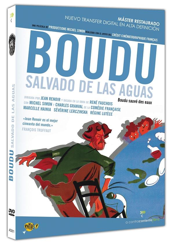 Boudu salvado de las aguas interior