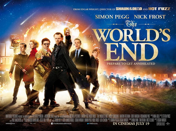 Bienvenidos al fin del mundo (The World`s end)