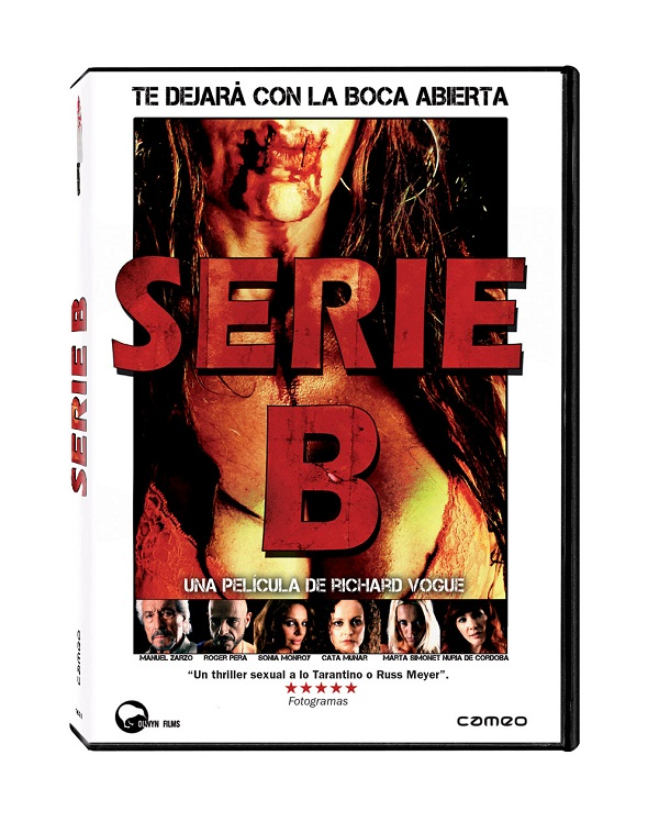 DVD Película Serie B