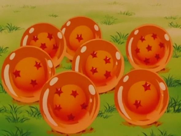 Bola de Dragón. Las siete bolas