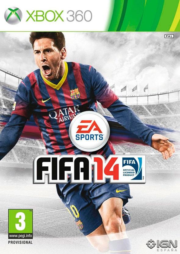 Portada FIFA 14 XBOX 360