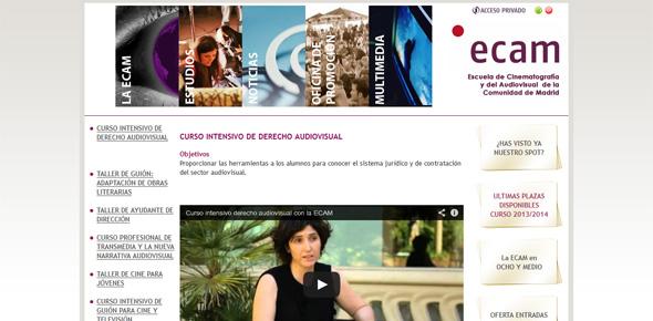 ECAM Derecho Audiovisual