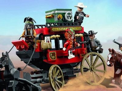 El llanero Solitario LEGO Carrusel