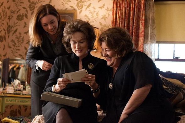 Julianne Nicholson, Meryl Streep y Margo Martindale en 'Agosto'