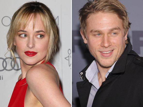 Dakota Johnson y Charlie Hunnam