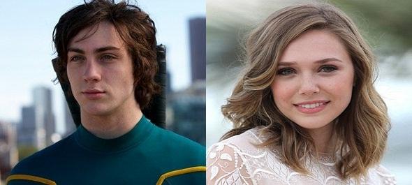 Aaron Taylor-Johnson y Elizabeth Olsen