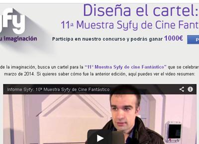 Concurso Cartel Syfy