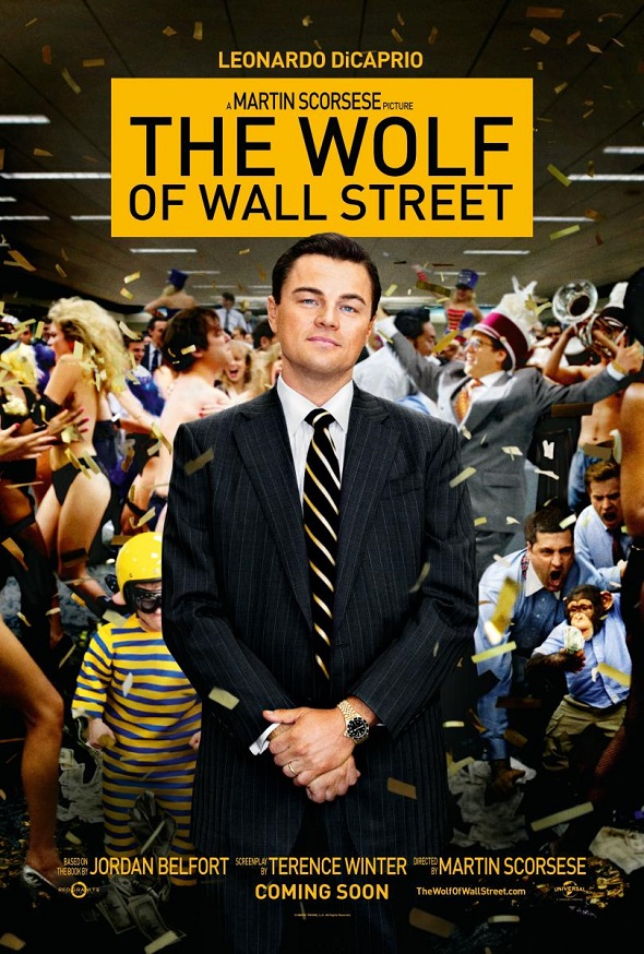 El lobo de Wall Street. Póster