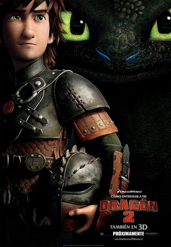 Cómo entrenar a tu Dragón 2 (How to train your Dragon 2