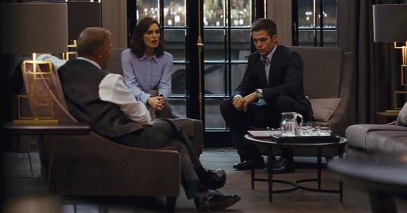 Costner, Knightley y Pine en 'Jack Ryan: Operación Sombra'