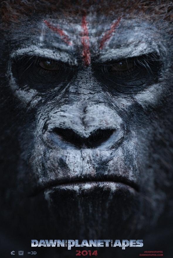 Nuevo póster de 'El amanecer del planeta de los simios'