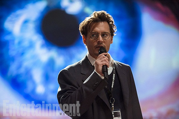 Johnny Depp en 'Trascendence'