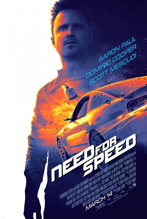 Need for Speed. Póster