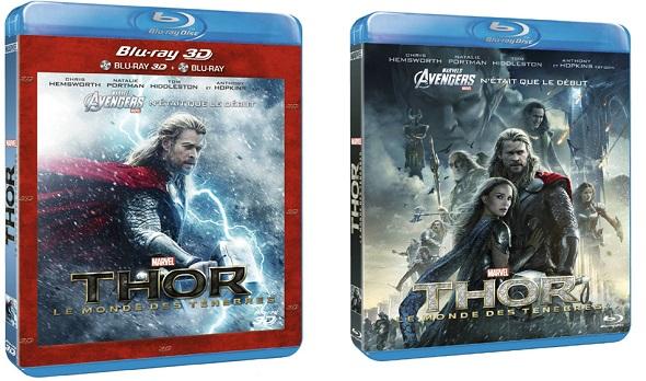 Thor: El Mundo oscuro. Ediciones BD y DVD