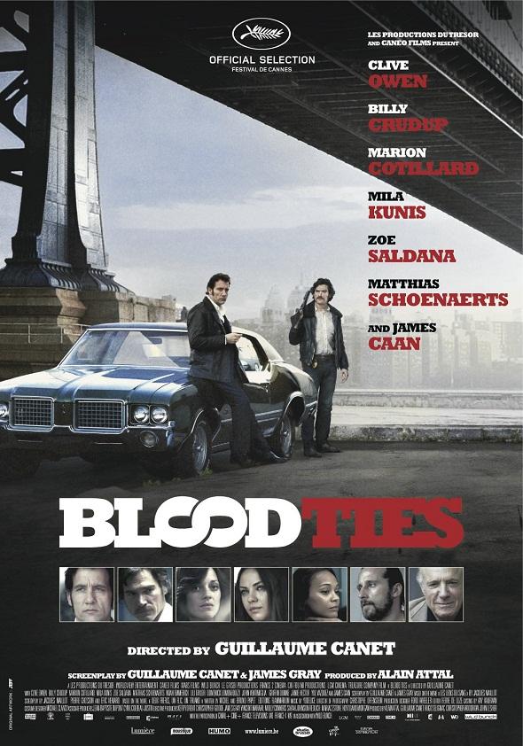 Póster de 'Blood ties'