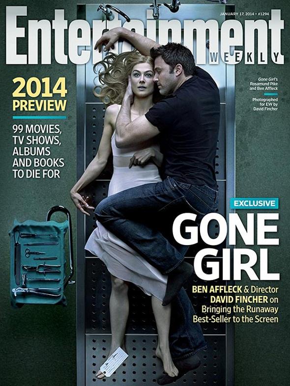'Gone girl' en la portada de Entertainment Weekly