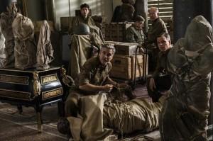 George Clooney, Matt Damon y el resto de la troupe de 'Monuments men'