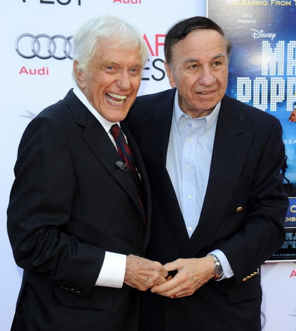 Richard sherman y Dick van Dyke