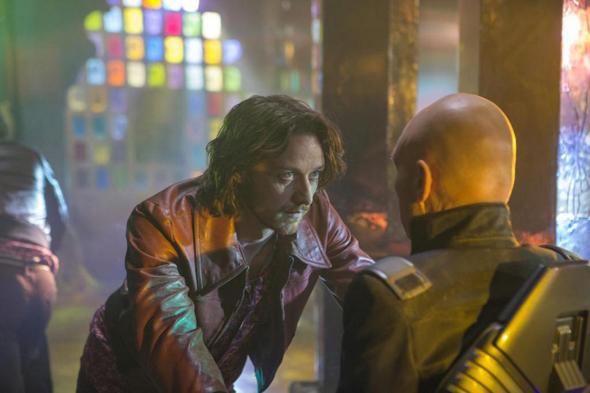 James McAvoy y Patrick Stewar frente a frente en 'X-Men: Días del futuro pasado'