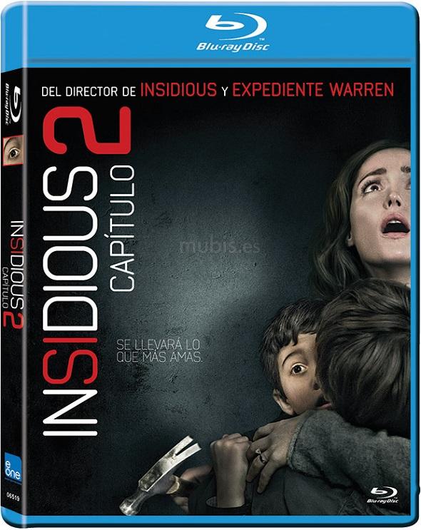 Insidious. Capítulo 2. Blu-ray.