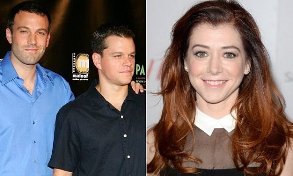 Alyson Hannigan se incorpora a la serie de Matt Damon y Ben Affleck