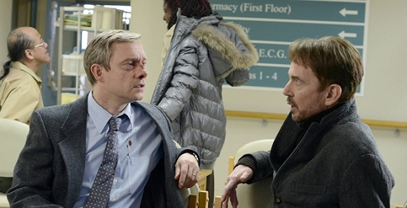 Martin Freeman y Billy Bob Thornton en 'Fargo'