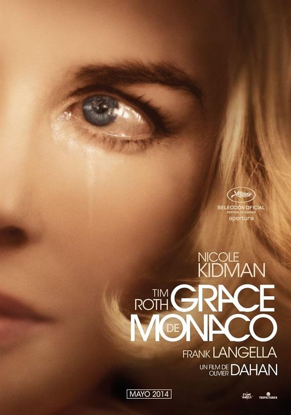 Póster español de 'Grace de Mónaco'