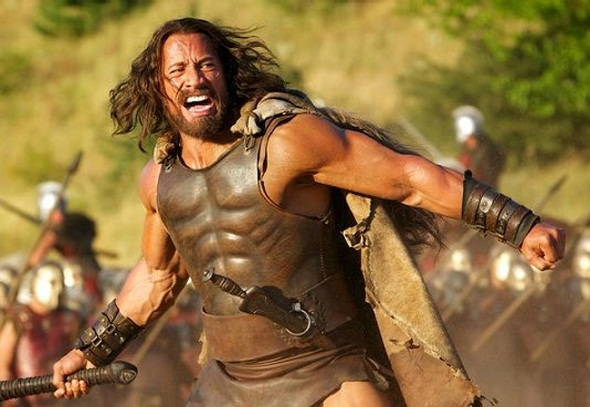 Dwayne Johnson en 'Hércules'