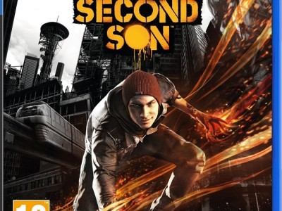 inFAMOUS Second Son. Carátula definitiva de PS4