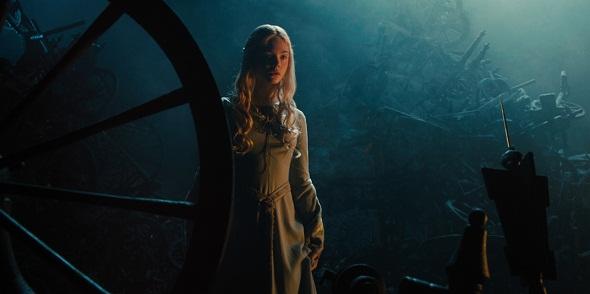 La princesa Aurora y la terrible rueca