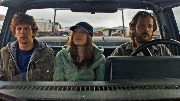 Eisenberg, Fanning y Sarsgaard en 'Night moves'