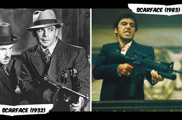 Las dos versiones de 'Scarface'