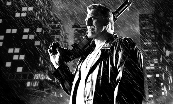 Mickey Rourke en 'Sin City: A dame to kill for'