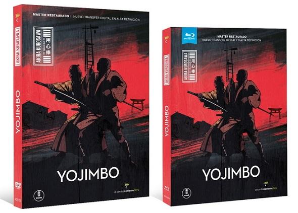 Yojimbo. Ediciones DVD y Blu-ray.