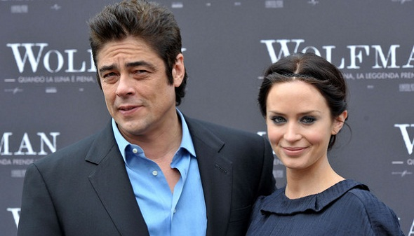 Benicio Del Toro y Emily Blunt podrían protagonizar 'Sicario'