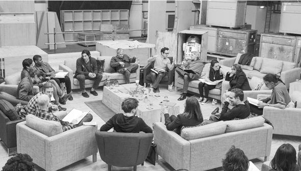 Star wars VII reparto