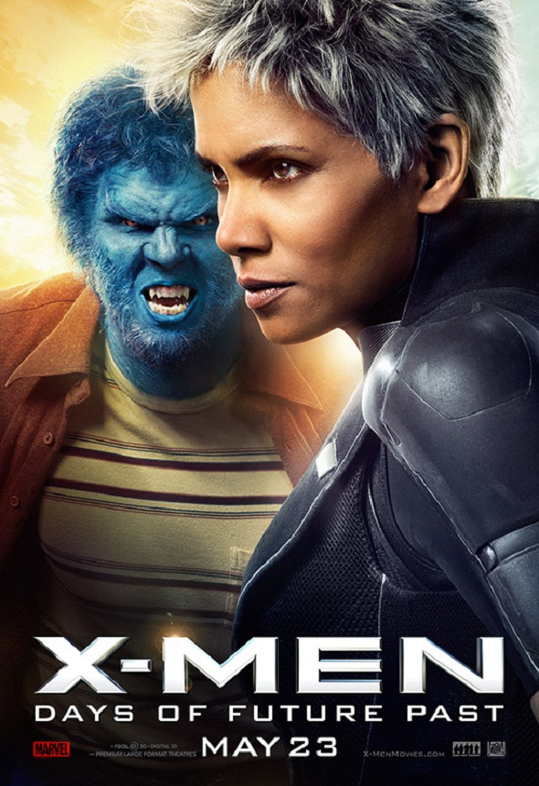 Bestia y Tormenta en otro póster de la saga mutante