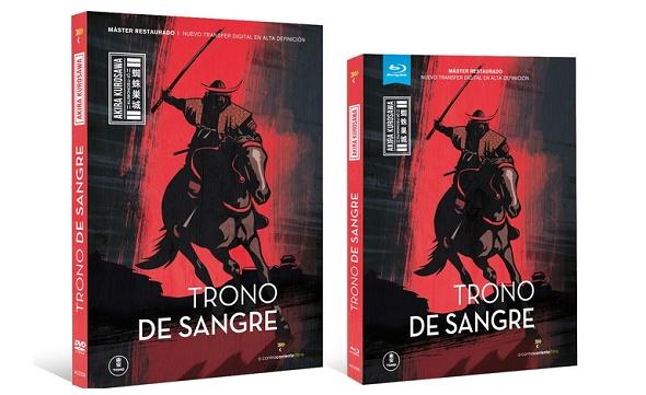 Trono de sangre. Ediciones DVD y BD