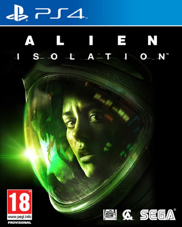Alien Isolation. Carátula PS4