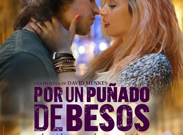Póster de la película 'Por un puñado de besos' de David Menkes